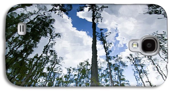 Cypress Swamp Galaxy S4 Cases - Cypress Reflections Galaxy S4 Case by Dustin K Ryan