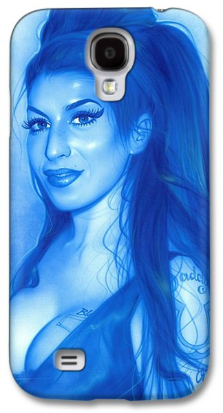 Rhythm And Blues Galaxy S4 Cases - Daddys Girl Galaxy S4 Case by Christian Chapman Art