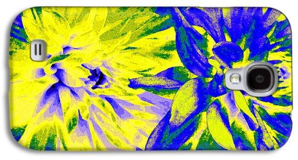 Nature Abstract Galaxy S4 Cases - Dahlia Decor Galaxy S4 Case by Will Borden