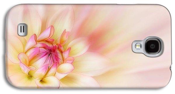 Macro Digital Galaxy S4 Cases - Dahlia Galaxy S4 Case by John Edwards