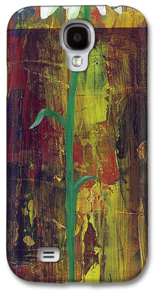 Botanical Galaxy S4 Cases - Daisy #3 Galaxy S4 Case by Lorelle Carr