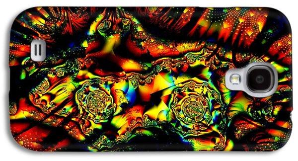 Fractal Image Galaxy S4 Cases - Dakimakura Galaxy S4 Case by Ron Bissett