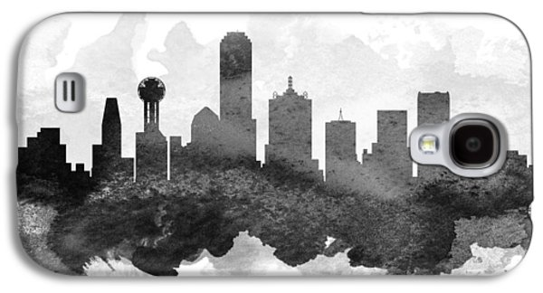 Dallas Cityscape 11 Galaxy S4 Case by Aged Pixel