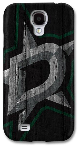Dallas Stars Wood Fence Galaxy S4 Case by Joe Hamilton