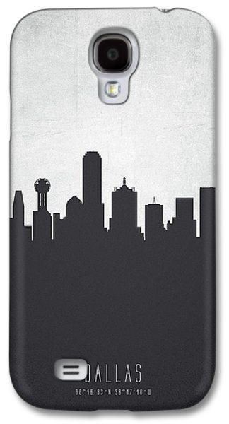 Dallas Texas Cityscape 19 Galaxy S4 Case by Aged Pixel
