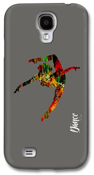 Colorful Galaxy S4 Cases - Dance Collection Galaxy S4 Case by Marvin Blaine