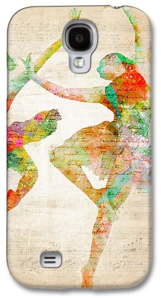 Layered Galaxy S4 Cases - Dance With Me Galaxy S4 Case by Nikki Smith
