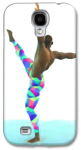 Dancer Colorful Galaxy S4 Case by Quim Abella