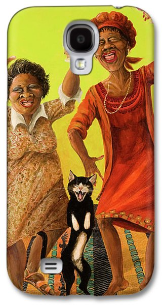 African-american Galaxy S4 Cases - Dancin Cause its Tuesday Galaxy S4 Case by Shelly Wilkerson