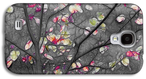 Grey Digital Art Galaxy S4 Cases - Dancing in the Wind 01 - 332 Galaxy S4 Case by Variance Collections