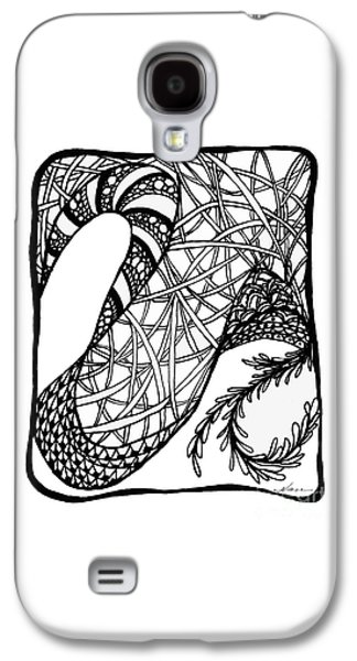 Drawing Galaxy S4 Cases - Dancing Shoes Galaxy S4 Case by Nan Wright