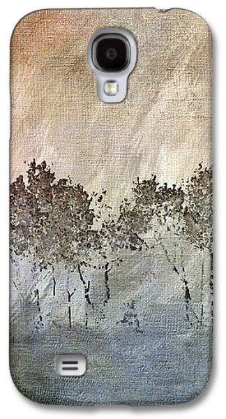 Abstracts Galaxy S4 Cases - Dancing Trees Galaxy S4 Case by Laughing Aspen Art