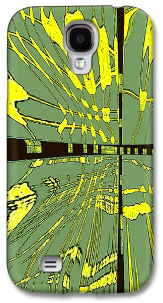 Ben Gertsberg Digital Art Galaxy S4 Cases - Dancing Waves Galaxy S4 Case by Ben and Raisa Gertsberg