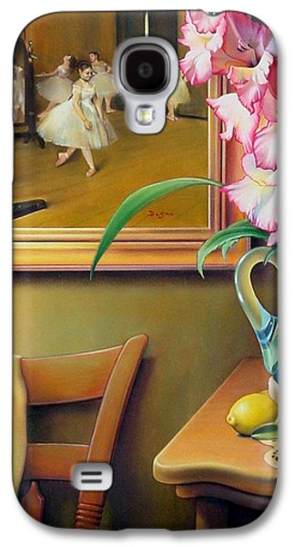 Chair Pastels Galaxy S4 Cases - Dancing with Glads Galaxy S4 Case by Patrick Anthony Pierson