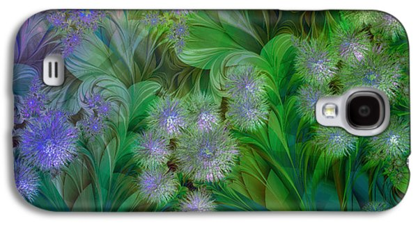 Dreamscape Galaxy S4 Cases - Dandelion Nap Galaxy S4 Case by Mindy Sommers