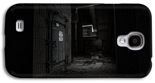 Creepy Galaxy S4 Cases - Danger in the Shadows Galaxy S4 Case by CJ Schmit