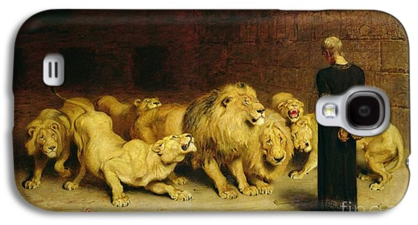 Daniel In The Lions Den Galaxy S4 Case by Briton Riviere