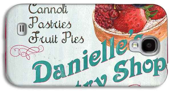Grocery Store Galaxy S4 Cases - Danielles Pastry Shop Galaxy S4 Case by Debbie DeWitt