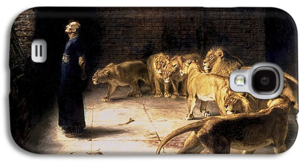 Briton Riviere Galaxy S4 Cases - Daniels Answer To The King - Lions Den  Galaxy S4 Case by Wonderful Ireland