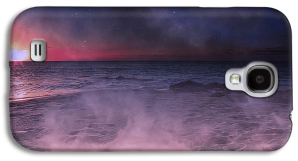 Timing Galaxy S4 Cases - DaNight Storm Galaxy S4 Case by Betsy C Knapp