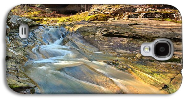 Landscapes Photographs Galaxy S4 Cases - Dappled Light On Piney Creek Galaxy S4 Case by Greg Matchick