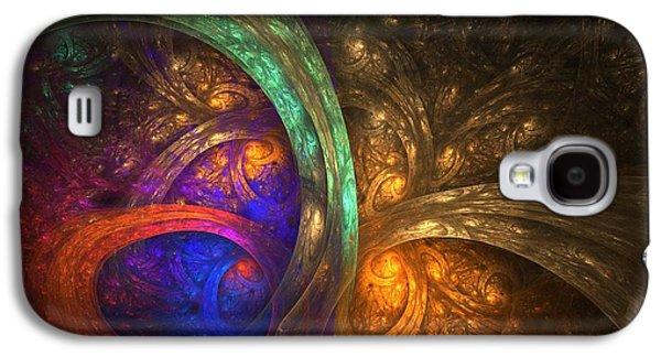 Dreamscape Galaxy S4 Cases - Dark Recesses Galaxy S4 Case by Lyle Hatch