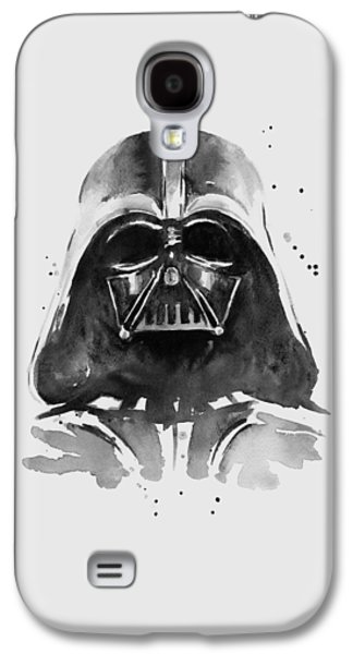 Fan Art Galaxy S4 Cases - Darth Vader Watercolor Galaxy S4 Case by Olga Shvartsur