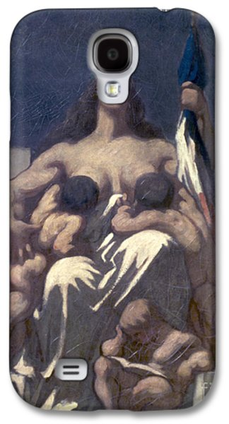 Republican Paintings Galaxy S4 Cases - Daumier: Republic, 1848 Galaxy S4 Case by Granger