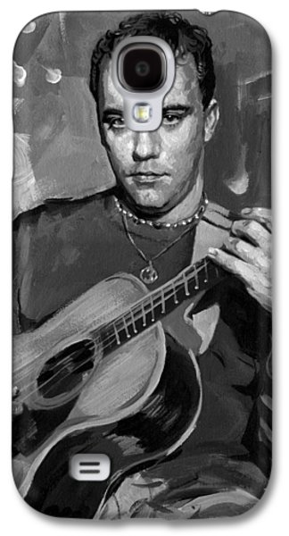 The Dave Matthews Band Paintings Galaxy S4 Cases - Dave Matthews Galaxy S4 Case by Ylli Haruni