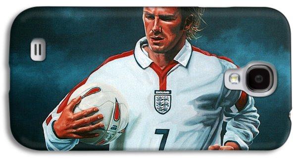 David Beckham Galaxy S4 Case by Paul Meijering