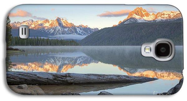 Idaho Photographs Galaxy S4 Cases - Dawn at Redfish Galaxy S4 Case by Idaho Scenic Images Linda Lantzy