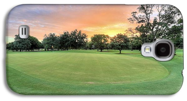 Florida Panhandle Galaxy S4 Cases - Dawn on the Putting Green Galaxy S4 Case by JC Findley