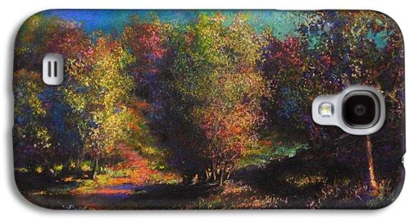Contemplative Pastels Galaxy S4 Cases - Dawn Galaxy S4 Case by Paul Birchak