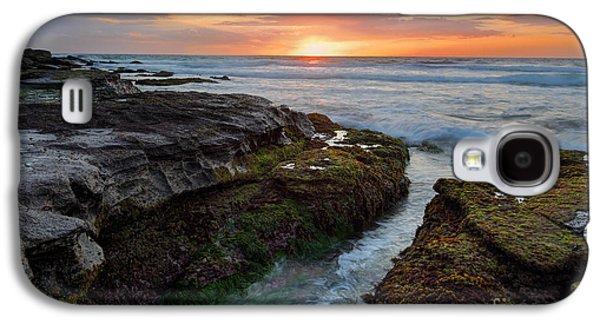 Alga Galaxy S4 Cases - Dawn Rhythyms Galaxy S4 Case by Leah-Anne Thompson