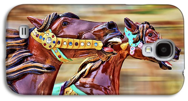 Day At The Races Galaxy S4 Case by Evelina Kremsdorf