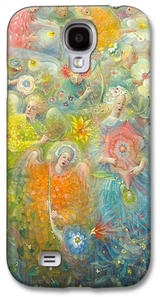 Religious Galaxy S4 Cases - Daydream after the music of Max Reger Galaxy S4 Case by Annael Anelia Pavlova