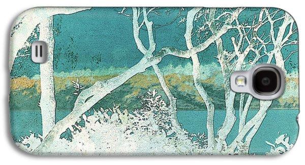 Surreal Landscape Galaxy S4 Cases - Daydream Galaxy S4 Case by Bonnie Bruno
