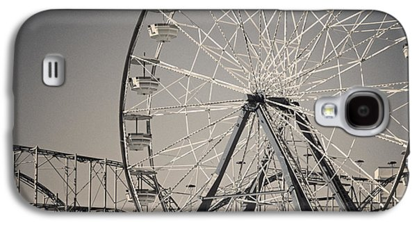 Daytona Beach Ferris Wheel Galaxy S4 Case by Joan Carroll