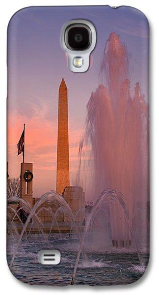Dc Sunset Galaxy S4 Case by Betsy Knapp