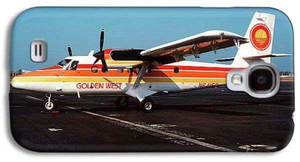 De Havilland Canada Dhc-6 Twin Otter, N64150 Galaxy S4 Case by Wernher Krutein