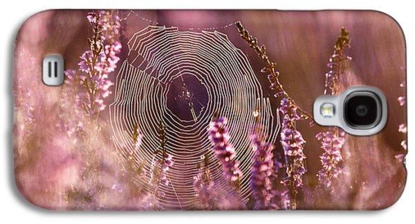 Fantasy Photographs Galaxy S4 Cases - Dear Heather - Heath in Bloom Galaxy S4 Case by Roeselien Raimond