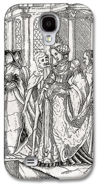 Switzerland Drawings Galaxy S4 Cases - Death Comes For The Empress After Hans Galaxy S4 Case by Ken Welsh