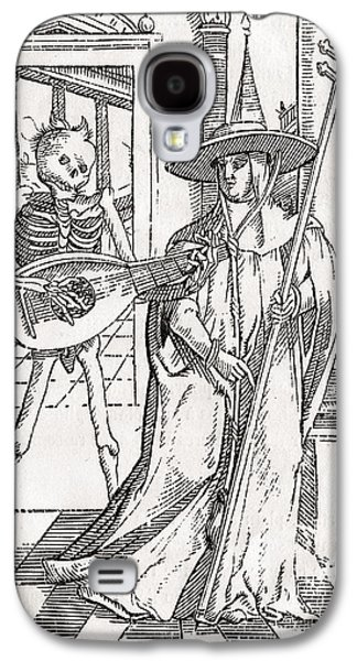 Switzerland Drawings Galaxy S4 Cases - Death Comes To The Cardinal From Der Galaxy S4 Case by Ken Welsh