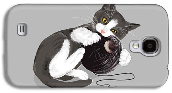 Star Trek Galaxy S4 Cases - Death Star Kitty Galaxy S4 Case by Olga Shvartsur