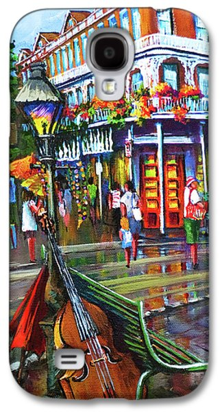 French Quarter Paintings Galaxy S4 Cases - Decatur Street Galaxy S4 Case by Dianne Parks