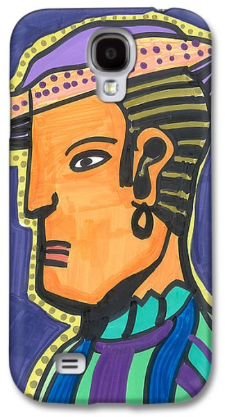 Animation Galaxy S4 Cases - Deco Gitano Galaxy S4 Case by Don Koester