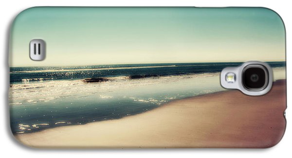 Beach Photography Galaxy S4 Cases - Deep Blue Galaxy S4 Case by Amy Tyler