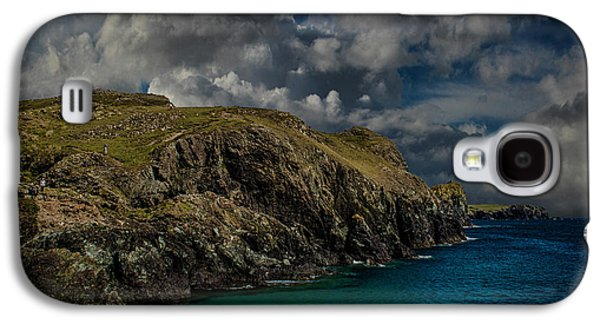 Landscapes Photographs Galaxy S4 Cases - Deep Blue Galaxy S4 Case by Martin Newman