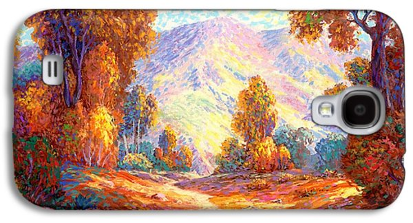 Aspen Galaxy S4 Cases - Deep Peace Galaxy S4 Case by Jane Small