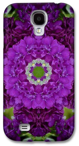 Contemplative Photographs Galaxy S4 Cases - Deep Purple Galaxy S4 Case by Marjorie Tietjen